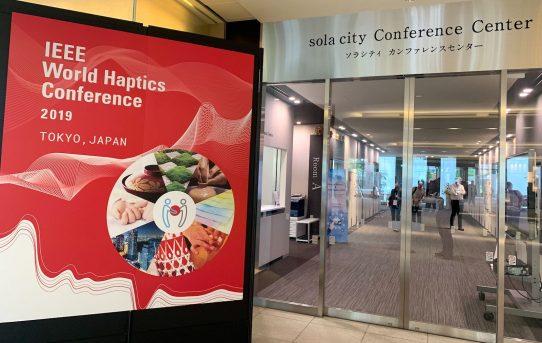 IEEE World Haptics Conference 2019 (WHC '19)